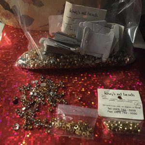Rare 1980s Rhinestones and Studs - 159 $32 FIRM